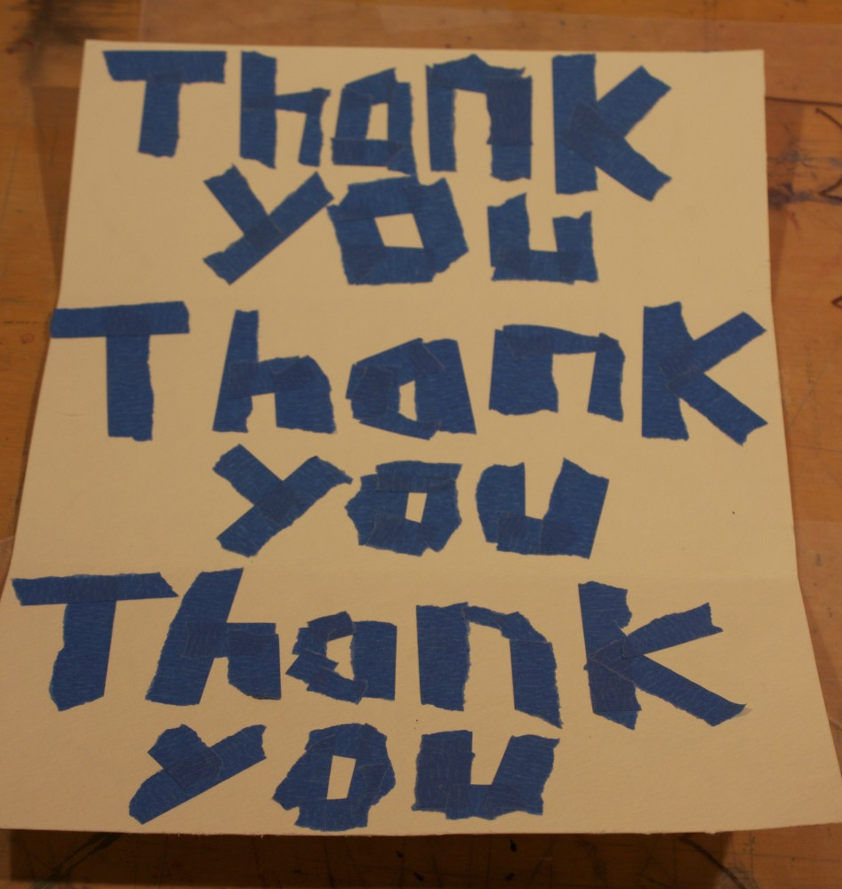 Easy Thank You Cards For Kids (2/6)