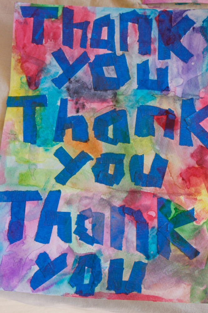 Easy Thank You Cards For Kids (4/6)