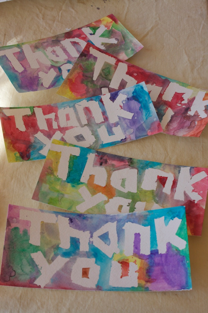 Easy Thank You Cards For Kids (5/6)